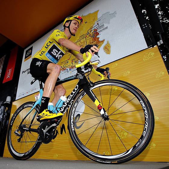 Chris Froome Bike