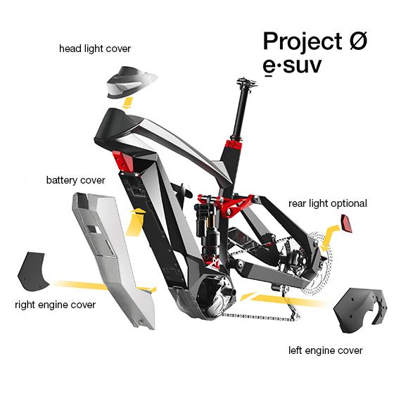 E-BIKE Concept Design