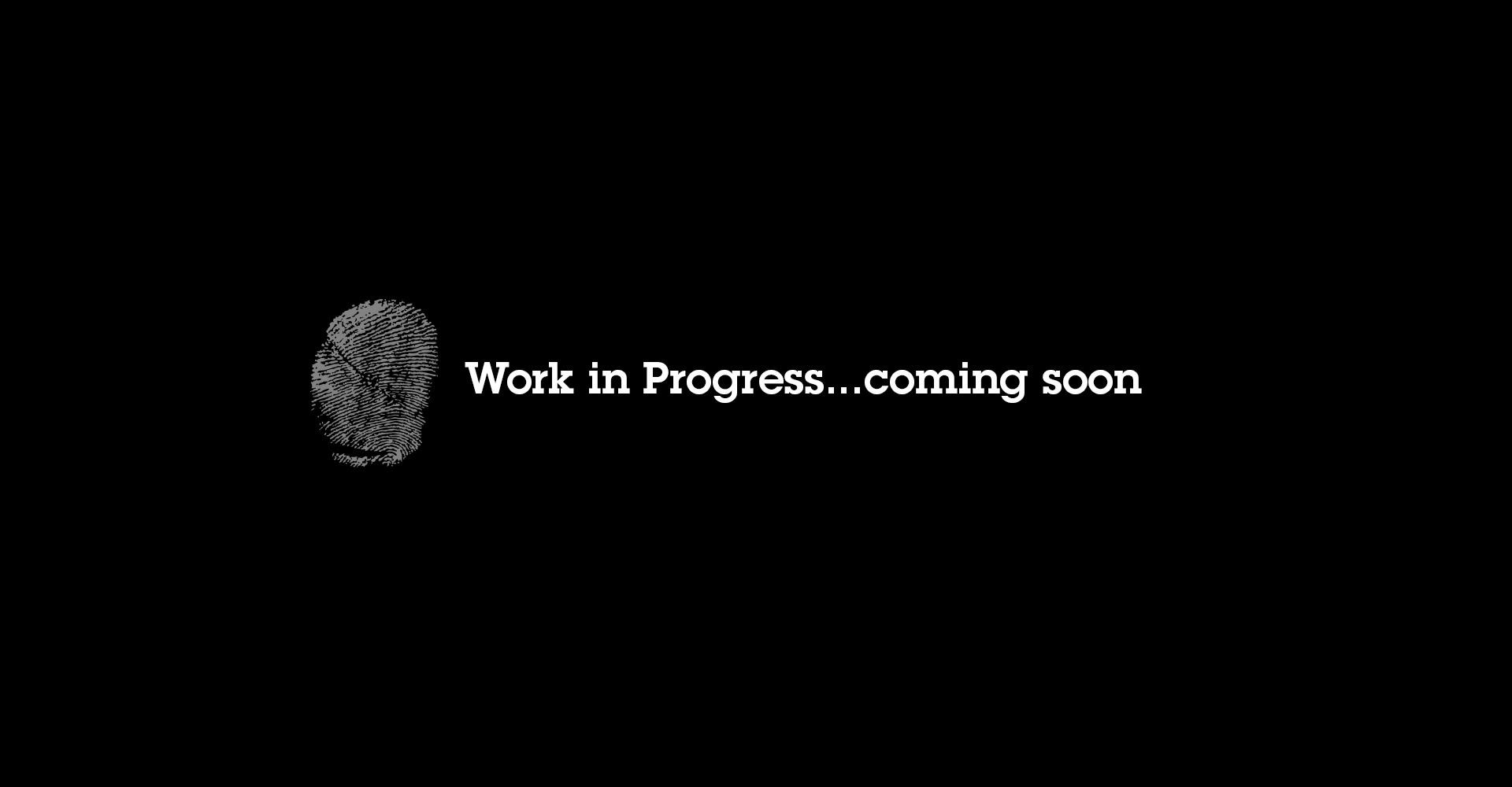 Work in Progress :-)